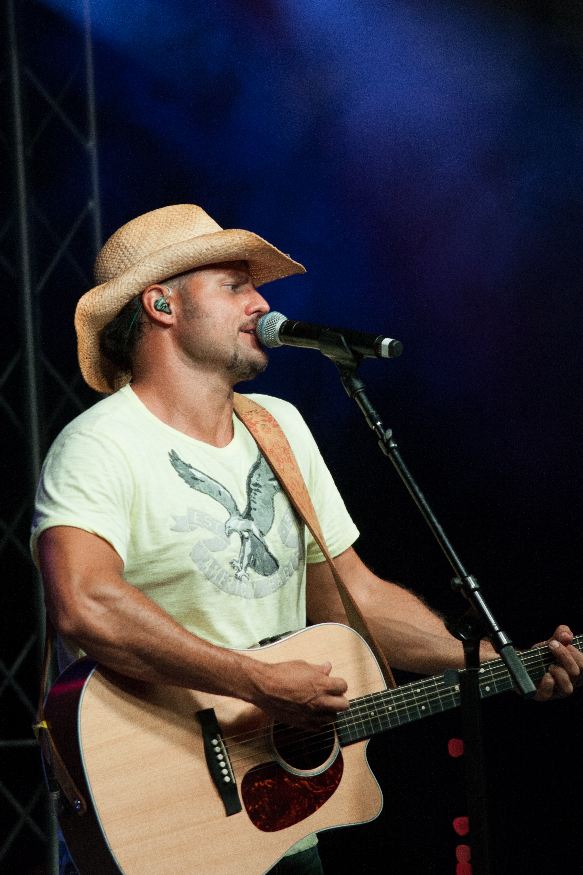 Chris Higbee at the Great Geauga County Fair.